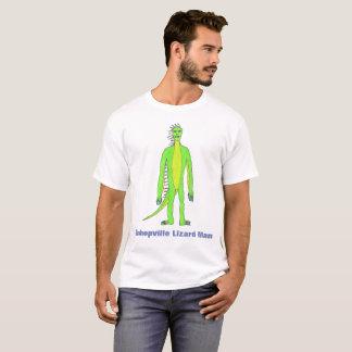 T-shirt Chemise d'homme de lézard de Bishopville