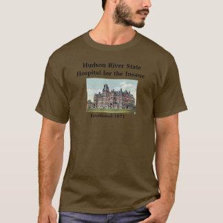 T-shirt Chemise d'hôpital d'État du fleuve Hudson