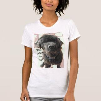 T-shirt Chemise d'humour de chien de Terre-Neuve