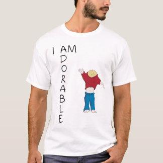 T-shirt Chemise d'Ian, je suis adorable