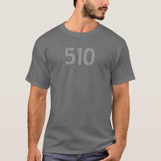 T-shirt Chemise d'indicatif régional 510