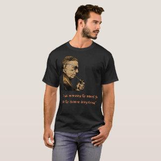 T-shirt Chemise d'obscurité de la citation 2 de Jean Paul