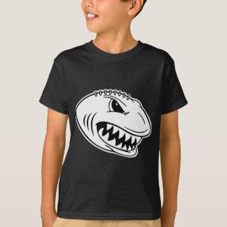T-shirt Chemise d'obscurité du football de requin