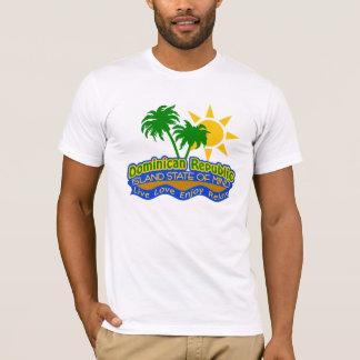 T-shirt Chemise dominicaine d'état d'esprit - choisissez
