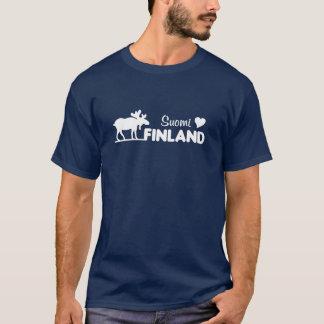 T-shirt Chemise d'orignaux de la Finlande - choisissez le