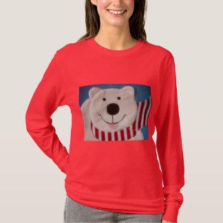 T-shirt Chemise d'ours d'hiver
