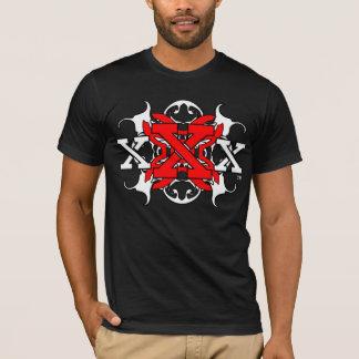 T-shirt Chemise droite de bord de X