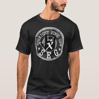 T-shirt Chemise droite de fonctionnaire de GEN de bord
