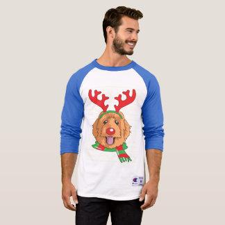 T-shirt chemise drôle de cadeau de Noël de renne de