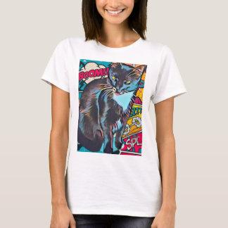 T-shirt Chemise drôle de chat