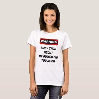 T-shirt Chemise drôle de cobaye
