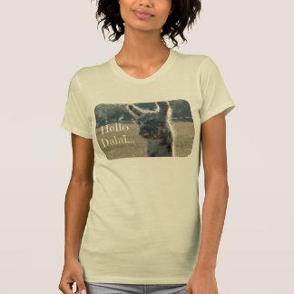 T-shirt Chemise drôle de lama, bonjour Dalai (LAMA de