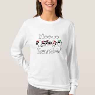 T-shirt Chemise drôle de Navidad d'ouatine