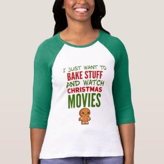 T-shirt Chemise drôle de Noël