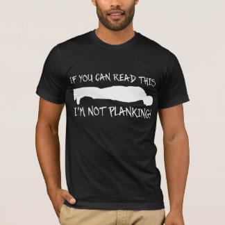 T-shirt Chemise drôle de Planking