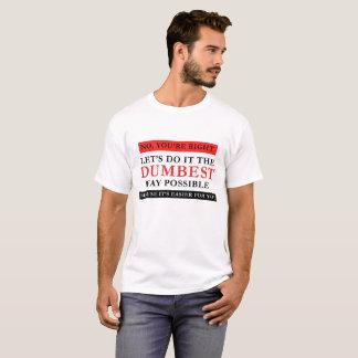T-shirt Chemise drôle possible de nouveauté d'humour de la