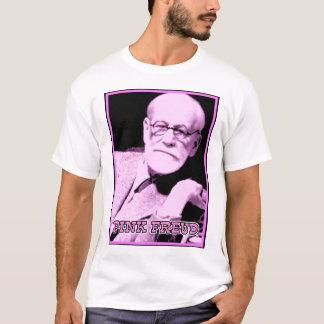 T-shirt Chemise drôle rose de Freud