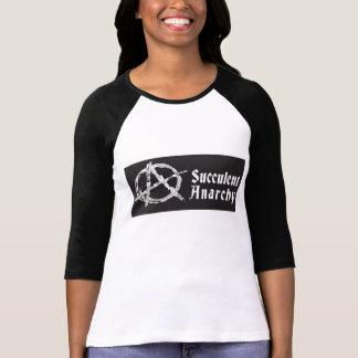 T-shirt Chemise du base-ball des femmes succulentes