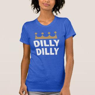 T-shirt Chemise du bleu royal des femmes de kc Dilly Dilly