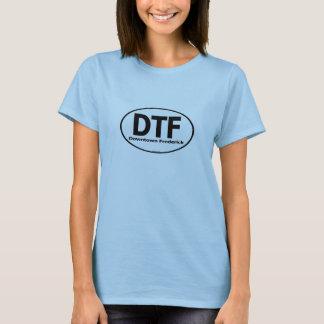 T-shirt Chemise du centre de dames de DTF Frederick