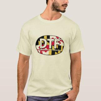 T-shirt Chemise du centre de drapeau de DTF Frederick le