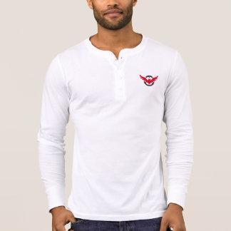 T-shirt Chemise du faucon 2 de douille de Henley de toile