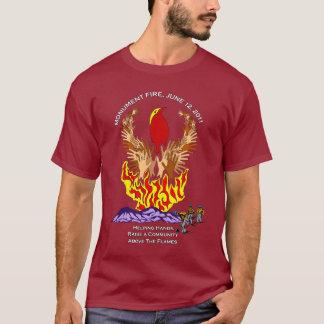 T-shirt Chemise du feu de monument