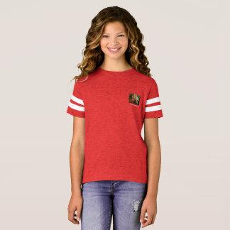 T-shirt Chemise du football des filles d'avenue Maria