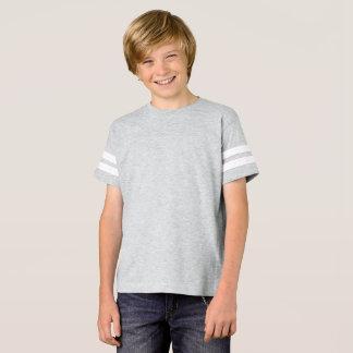 T-shirt Chemise du football des garçons
