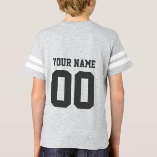 T-shirt Chemise du Jersey du football des enfants nommés