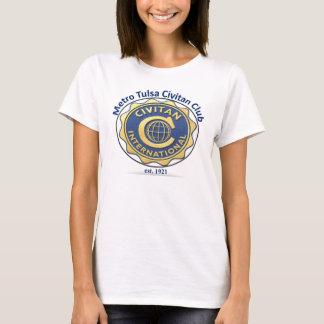 T-shirt Chemise du monde de Civitan de métro de Tulsa une
