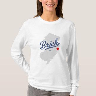 T-shirt Chemise du New Jersey NJ de brique