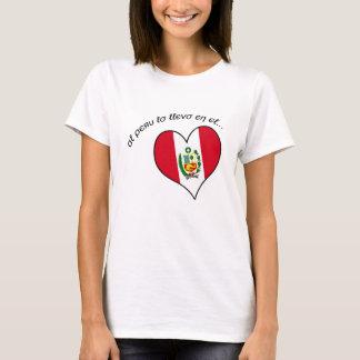 T-shirt Chemise du Pérou de femmes