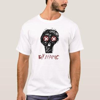 T-shirt Chemise dynamique de crâne