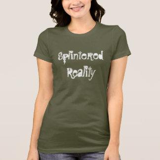 T-shirt Chemise éffrayante brisée de réalité