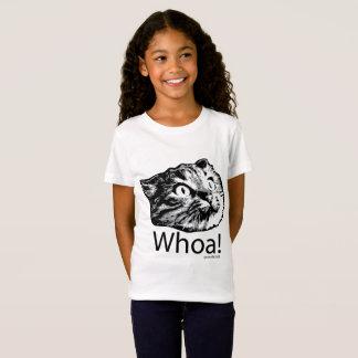 T-Shirt Chemise élégante de chat d'Internet