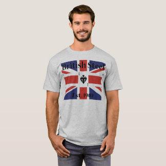 T-shirt Chemise en acier britannique de moto