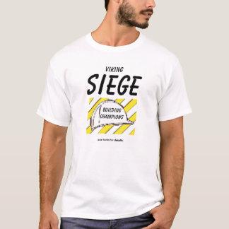 T-shirt Chemise en construction de siège de Viking