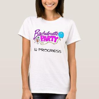 T-shirt Chemise EN COURS de partie de Bachelorette
