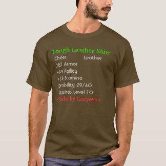 T-shirt Chemise en cuir dure (armure en cuir) - avec la