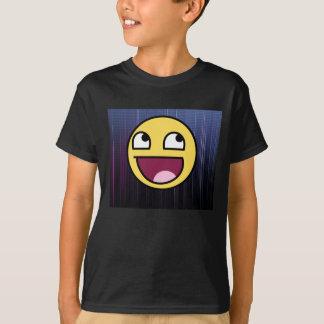 T-shirt Chemise épique de motif de visage et de dos