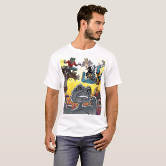 T-shirt Chemise étrangère d'attaque