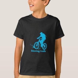 T-shirt Chemise faisante du vélo de spécialité de montagne