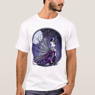 T-shirt Chemise féerique d'art de libellule de prune de