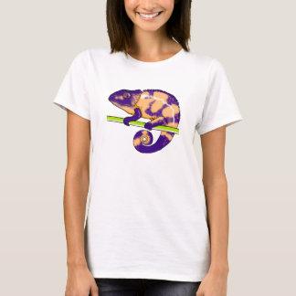 T-shirt chemise (femelle) de cham de panthère