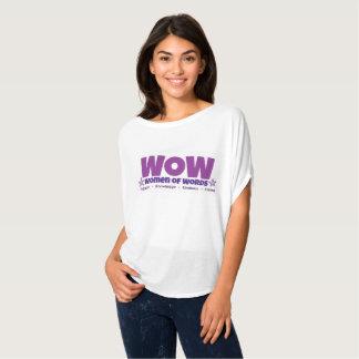 T-shirt Chemise flowy de wow