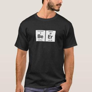 T-shirt Chemise foncée de base de bière