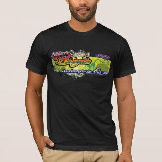T-shirt Chemise foncée de concepteur de KrazyKat d'A-Kerr