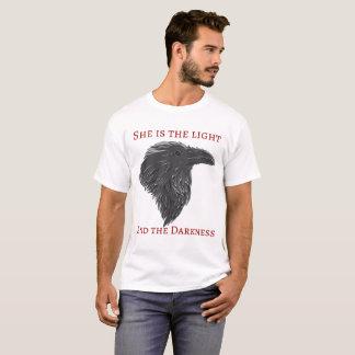 T-shirt Chemise foncée de corneille de déesse