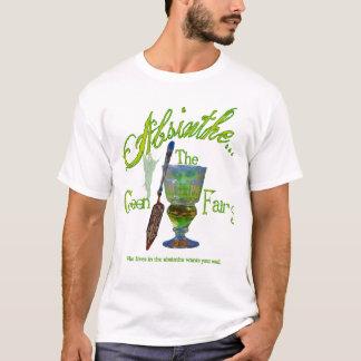 T-shirt Chemise foncée de fée de vert d'absinthe
